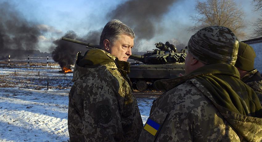 Украина не может прекратить …