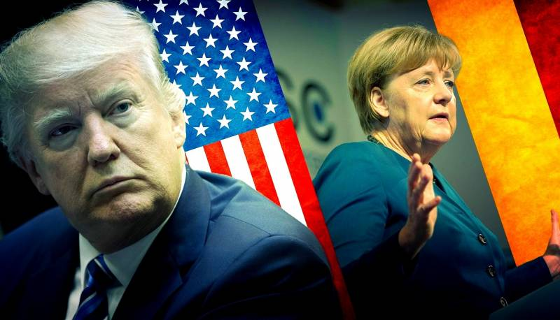 Американцы толкают Европу к …