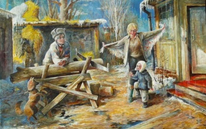Обыкновенное счастье: Картины-истории, приправленные душевным теплом