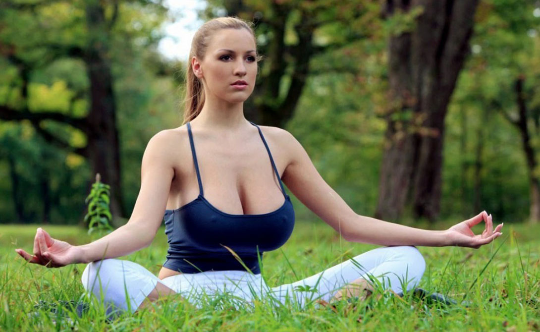 photo of girls who dream of a guy meditation № 98507