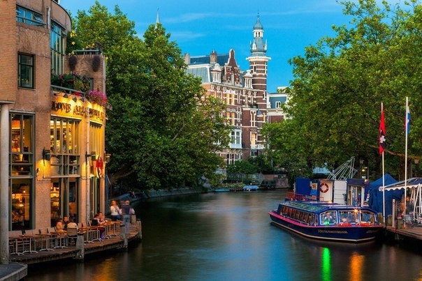 Красочный Амстердам