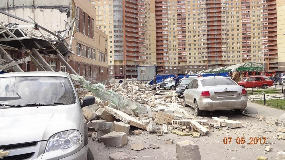 В Ленобласти обрушилась строящаяся школа (ее должны были скоро открыть)