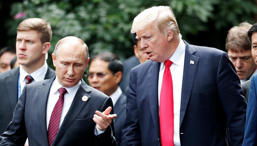 Вместе мочить в сортирах: Путин и Трамп договорились бороться с ИГИЛ до полного разгрома террористов