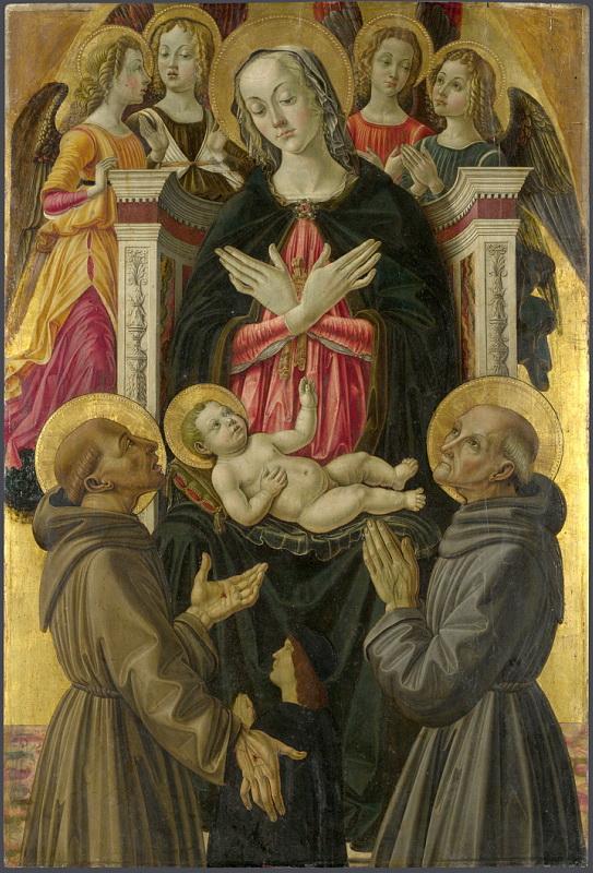 Bartolomeo Caporali - Saint John the Baptist. Национальная галерея, Часть 1