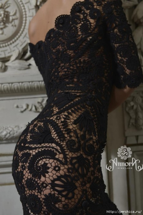 Вяжем шедевральные платья *Lusk* &*Gort* от Annora