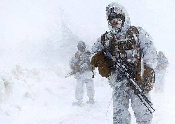 Морпехи США замёрзли на учен…