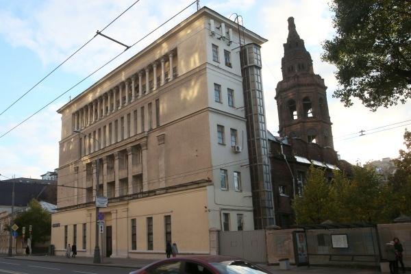 Росимущество передало РПЦ бывшее здание «Союзмультфильма»