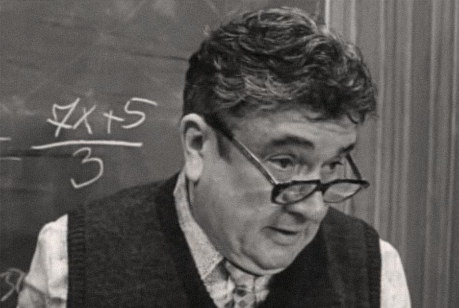 "Учитель математики из ""Приключений Электроника"""