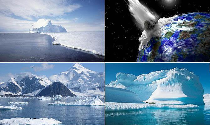 Антарктида и Северо Ледовитый океан - Интересные факты о Сверхъестественном и Паранормальном