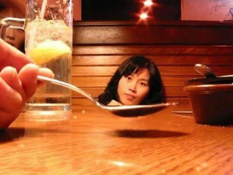 Ужин людоеда. перспектива, правильный ракурс, прикол, фотографии, юмор