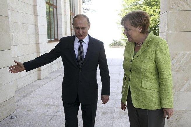 Ангела Меркель и что её беспокоит в России
