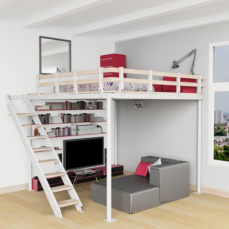 Минимум пространства, максимум эффективности двухъярусная кровать, дизайн, идеи, маленькая квартира