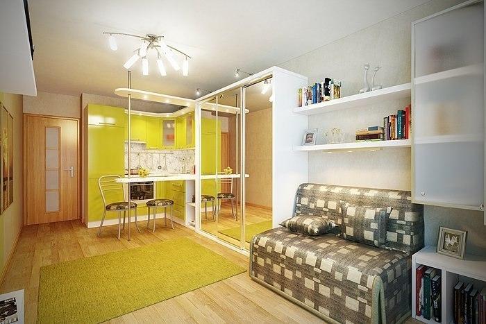 Комната студия дизайн