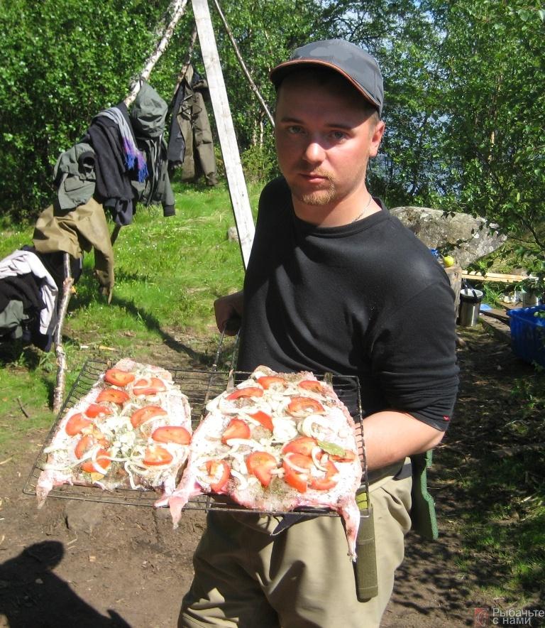 Кулинарные шедевры на рыбалке