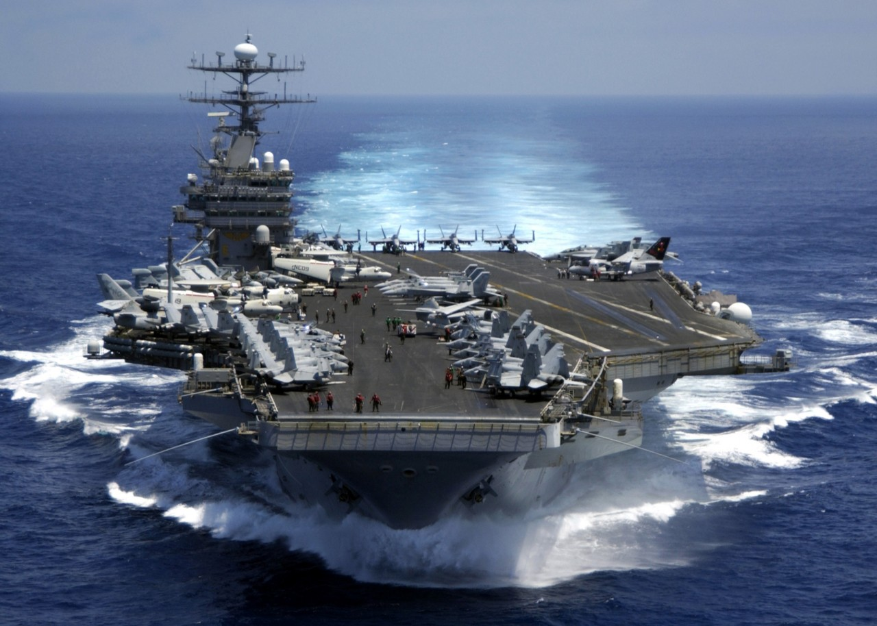 WSJ: обман Трампа с авианосцем Carl Vinson вызвал насмешки в странах Азии