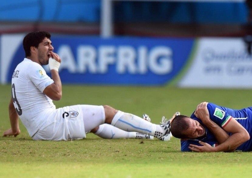 Луис Суарес: Я прошу прощения у Кьеллини и всей футбольной семьи
