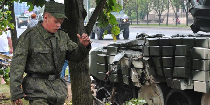 Причина ДТП с танком — в погоде и мокром асфальте. Механик не наказан