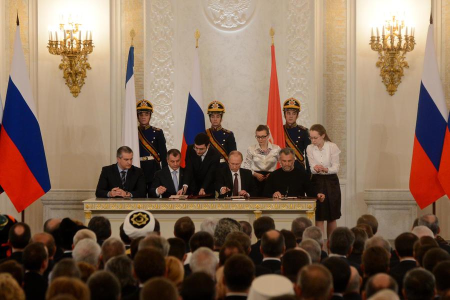 Прямая трансляция заявления Владимира Путина в связи с обращением Крыма о вхождении в состав России