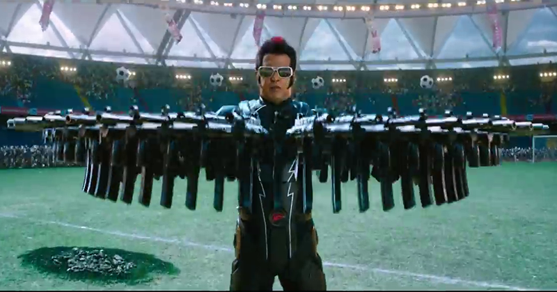 У индийского блокбастера «Робот» вышел сиквел: иногда ОНО возвращается