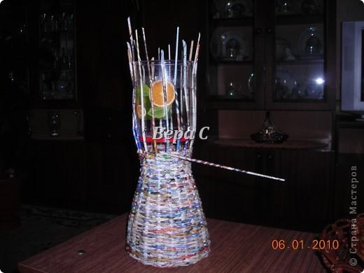 Мастер-класс Плетение: Мастер класс плетения из газеты для новичков Бумага газетная Отдых. Фото 18