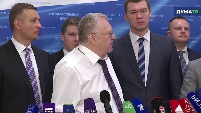 Жириновский: Не сметь отправ…