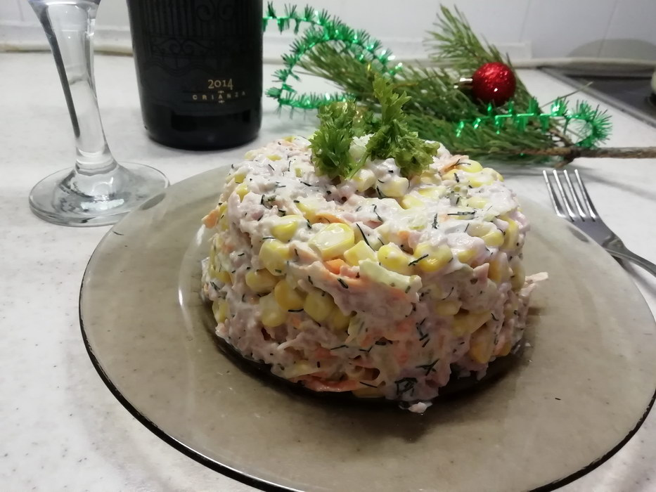 Мгновение — салат на праздни…