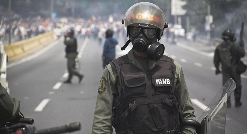 Нацгвардия Венесуэлы примени…