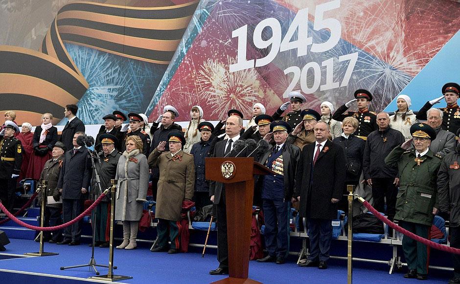 Владимир Путин: «Нет, не было и не будет силы, которая могла бы покорить наш народ»