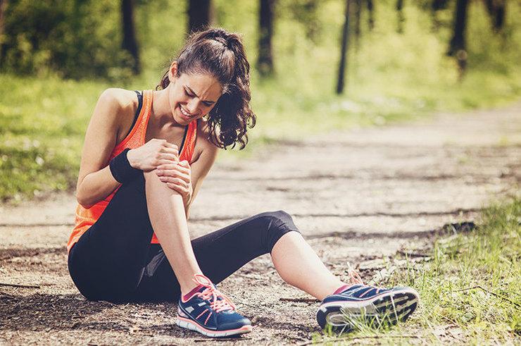 О чем может свидетельствовать боль в колене