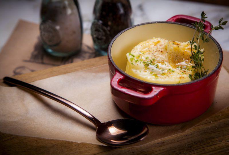 Изображение рецепта Картофельное пюре с мускатным орехом