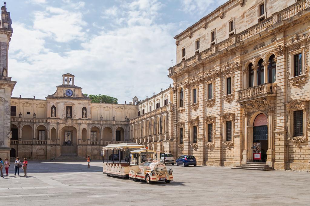 Почему золотой итальянский город Лечче в Апулии