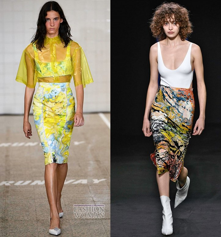 Модные юбки весна-лето 2019 фото №51