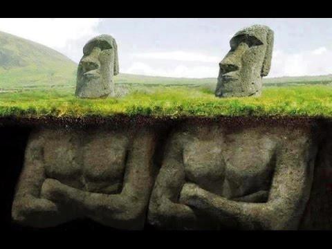 Ну и немного разных версий - приколов история, остров пасхи