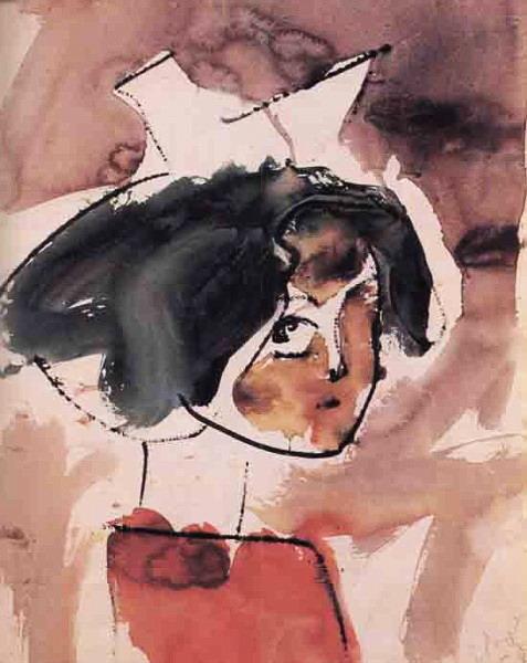 1958 Портрет Ксюши (477x600, 72Kb)