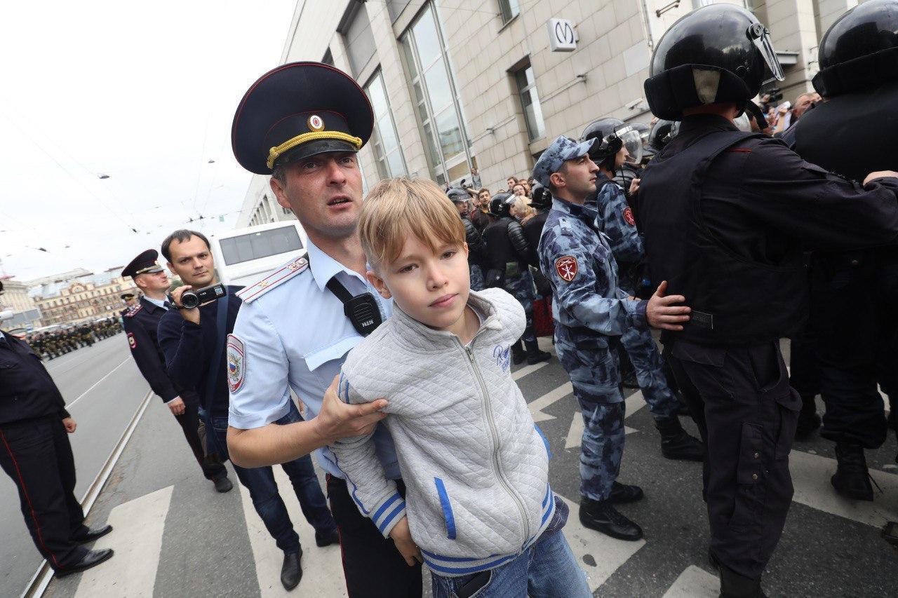 Юлия Витязева: О протестах пенсионеров 2060-х годов
