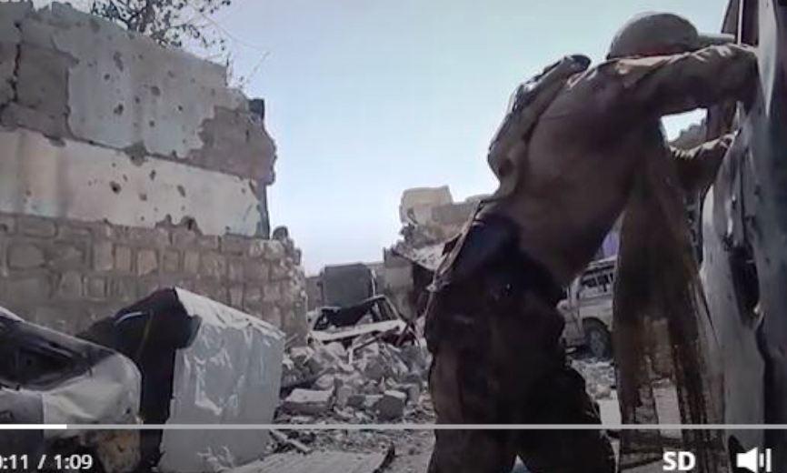Опубликовано видео обстрела съемочной группы Sputnik в иракском Мосуле