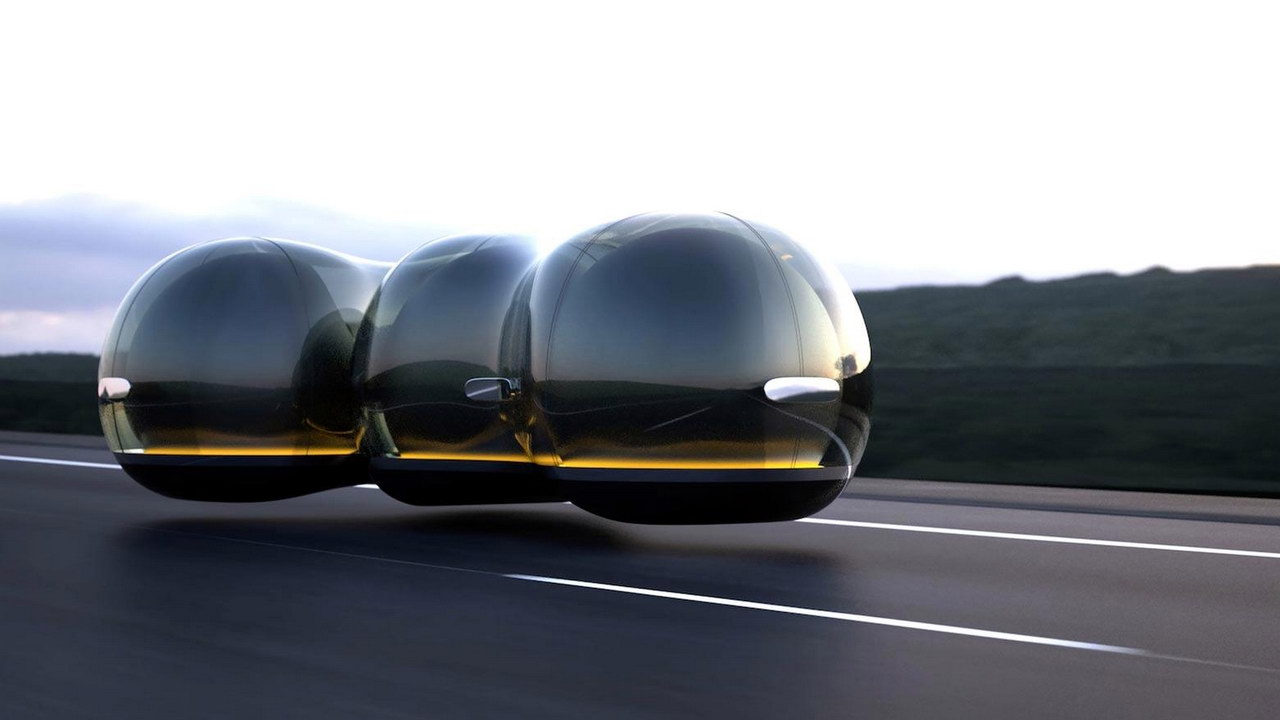 Летающие машины-пузыри Renault