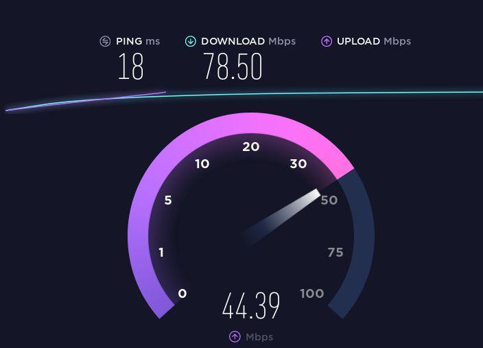как узнать скорость интернета