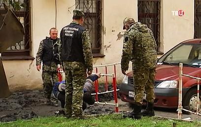 СКР возбудил дело после прорыва трубы в Петербурге