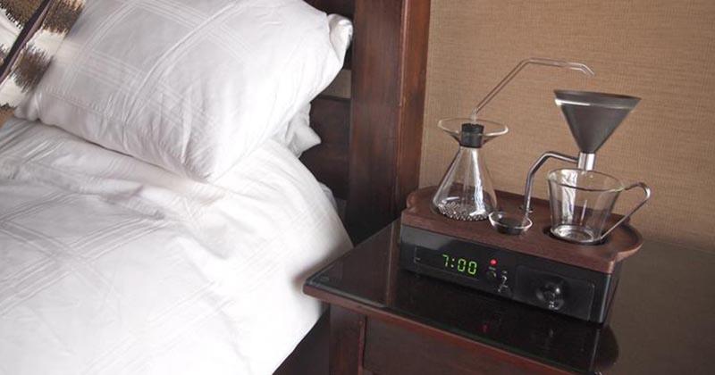 Просыпайтесь с удовольствием. Отличное изобретение — будильник-кофеварка
