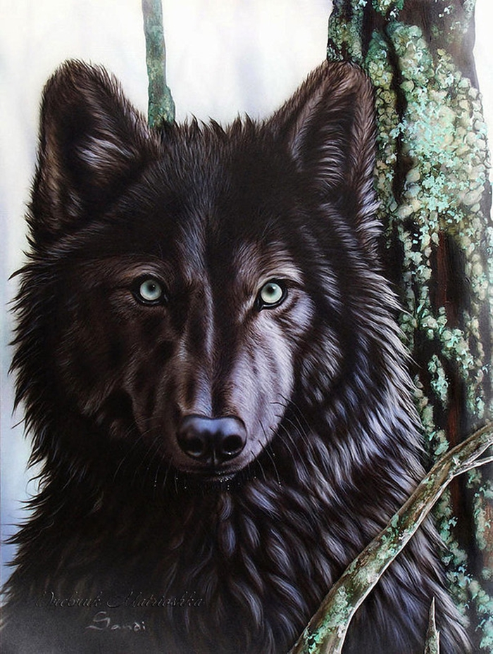Awesome realistic drawings of animals 16
