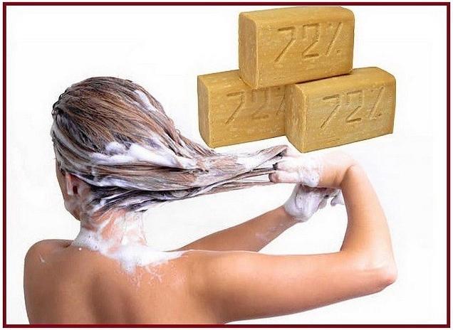 У Вас в квартире есть хозяйственное мыло? Если нет, то обязательно приобретите и пусть лежит на всякий случай
