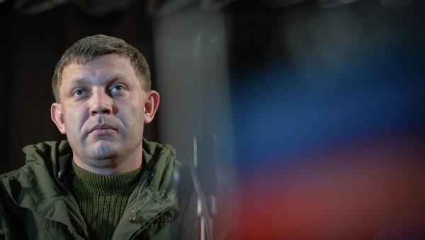Захарченко: ни один украинский пограничник на территорию ДНР не войдет