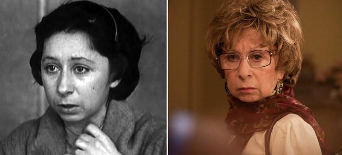 Лия Ахеджакова, 78 лет «Ищу человека» (1973) 35 лет — «Мамы» (2012) 74 года