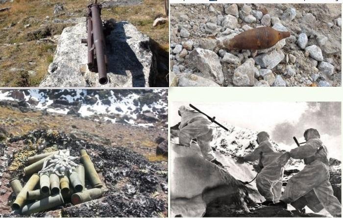 На Эльбрусе нашли останки советских воинов, погибших в 1942 году