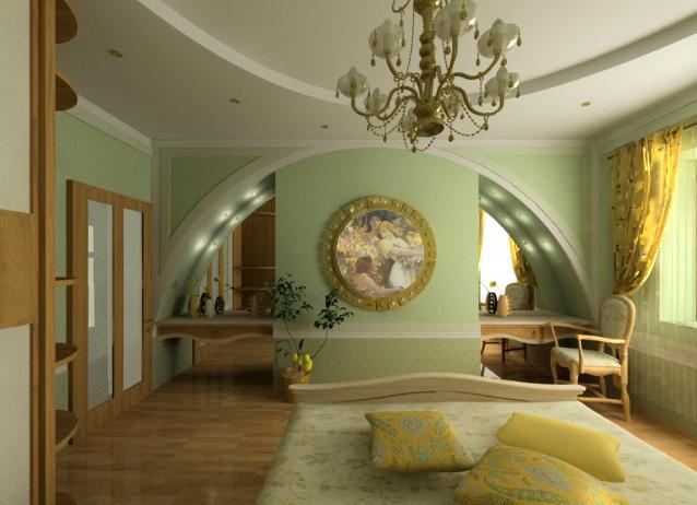 спальни классика фото RemontVDome.com.ua 452
