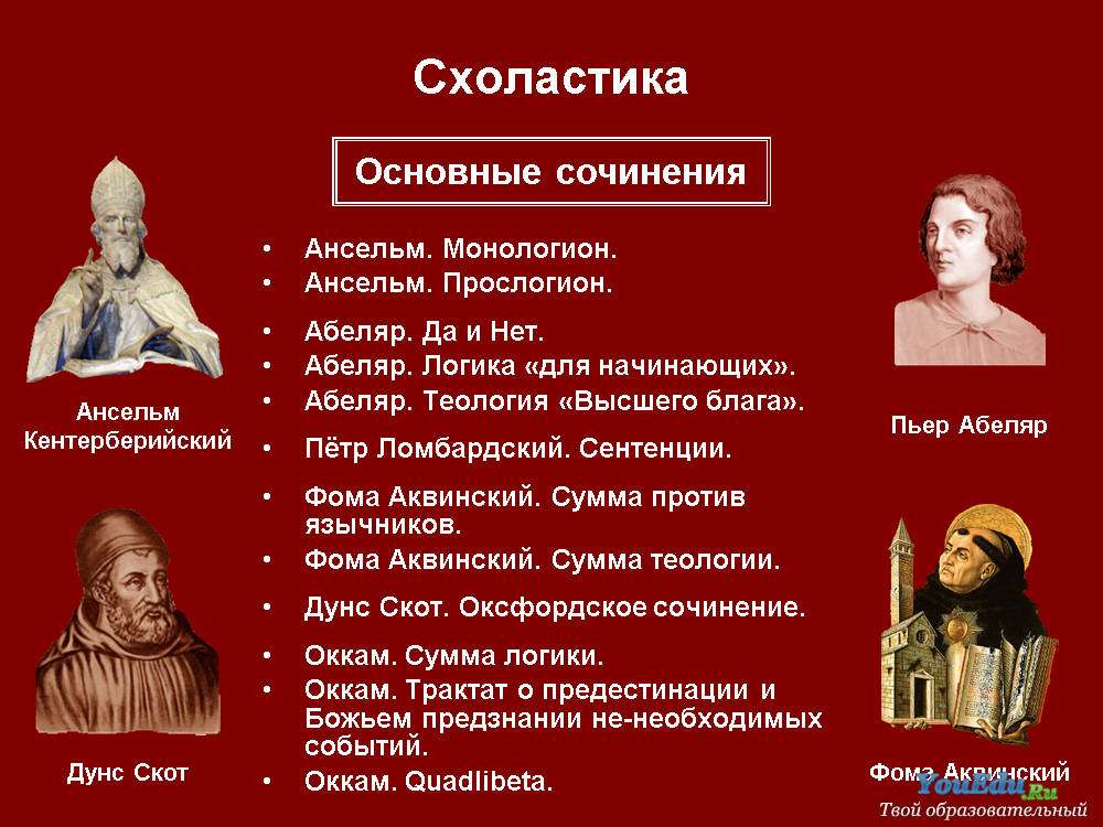 СХОЛАСТИКА.