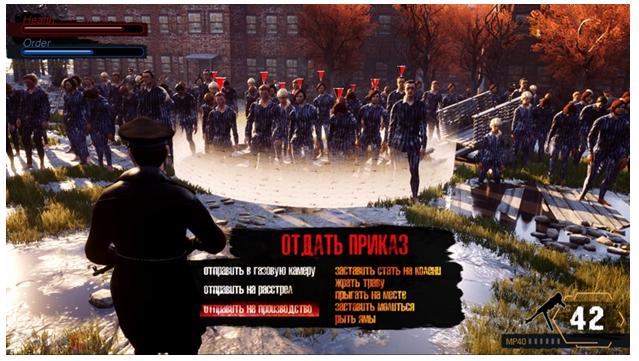 Украина выпускает игру про концлагеря, в которой можно убивать евреев