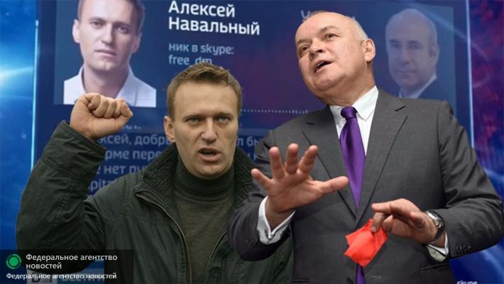 Киселев vs Навальный: на кону $100 млн и 20 лет тюрьмы