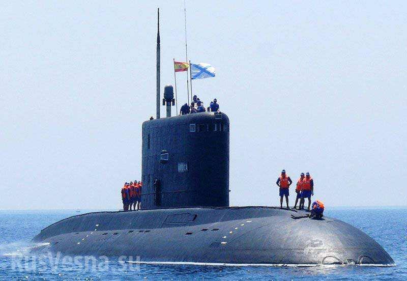 «Чёрная дыра», которой боится НАТО, оказалась российской подлодкой